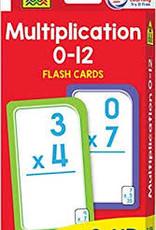 School Zone Multiplication Flash Cards