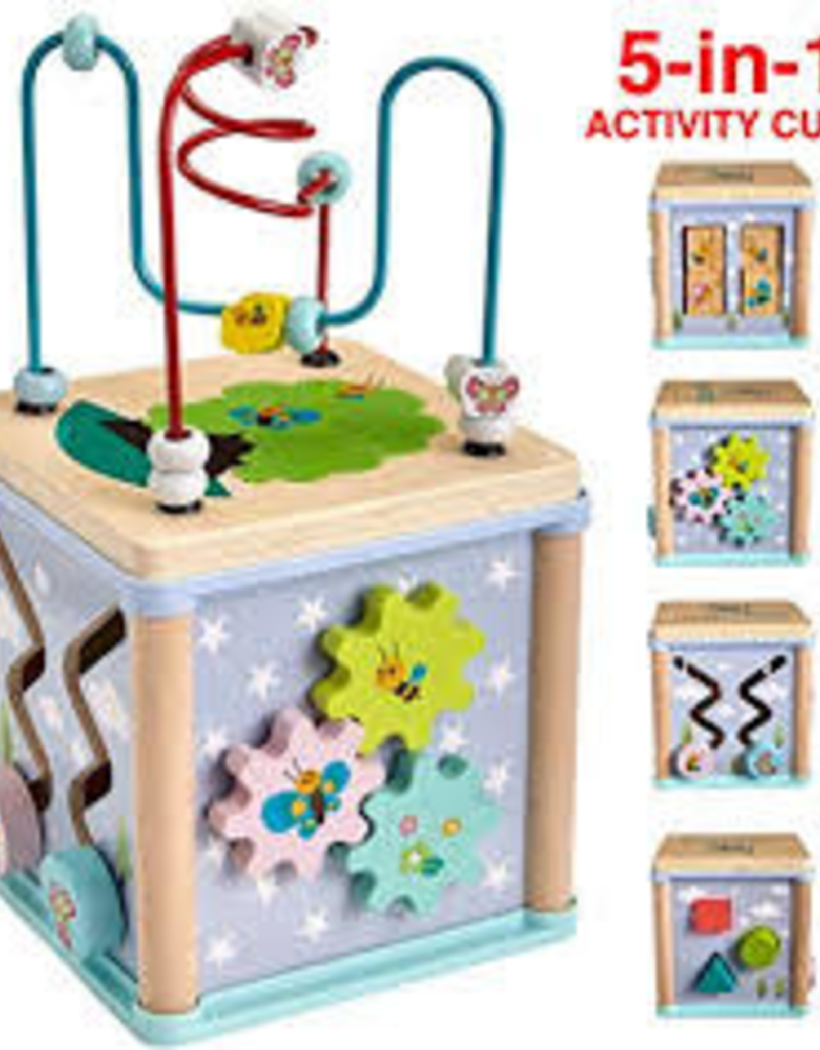 Family Games of America 5 in 1 Activity Cube