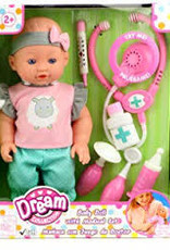 Family Games of America Baby Doll Medical Set