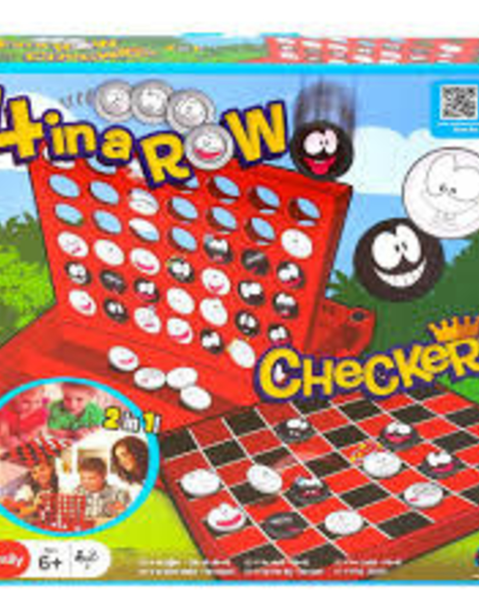 Playwell 4-in-a-Row & Checkers