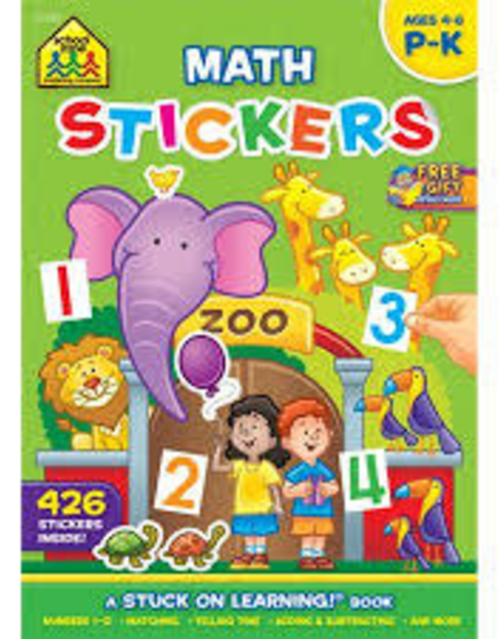 School Zone Math Sticker Book