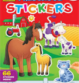 School Zone Pre-School Sticker Book