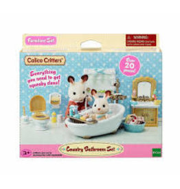 Calico Critters Country Bathroom Set