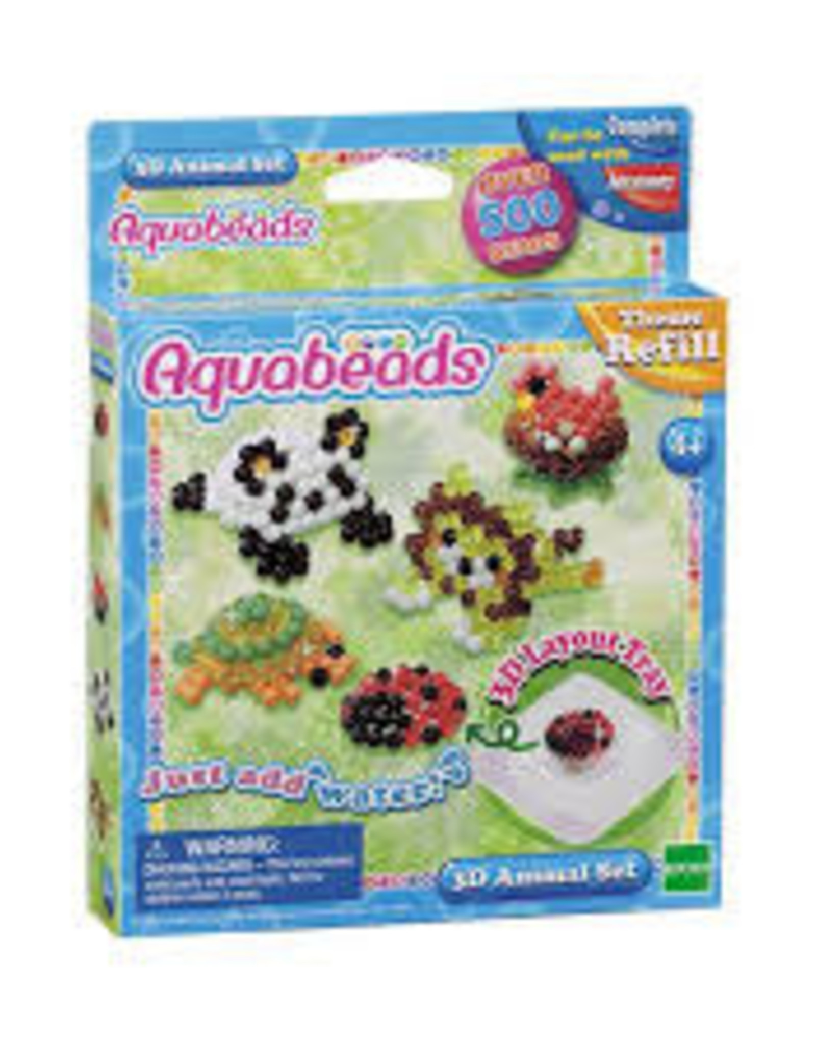 Aquabeads Aquabeads: 3D Animal Set
