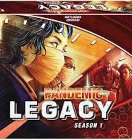 Z-Man Games PANDEMIC LEGACY: S1 RED EDITION