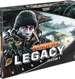 Z-Man Games PANDEMIC LEGACY: S2 BLACK EDITION