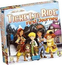 Days of Wonder Ticket to Ride - First Journey Europe