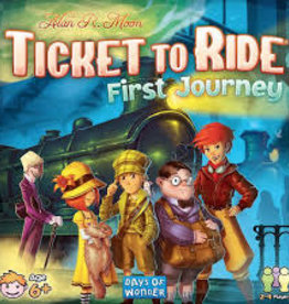 Days of Wonder Ticket to Ride - First Journey