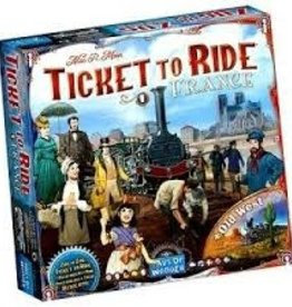 Days of Wonder Ticket to Ride - France / Old West Map #6