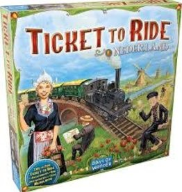 Days of Wonder Ticket to Ride - Nederland Map #4