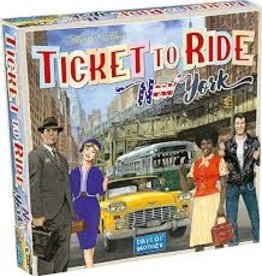 Days of Wonder Ticket to Ride - New York 1960