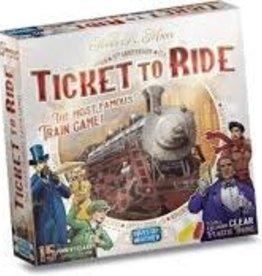Days of Wonder Ticket to Ride - 15th Anniversary Edition