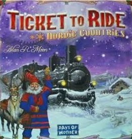 Days of Wonder Ticket to Ride - Nordic Countries