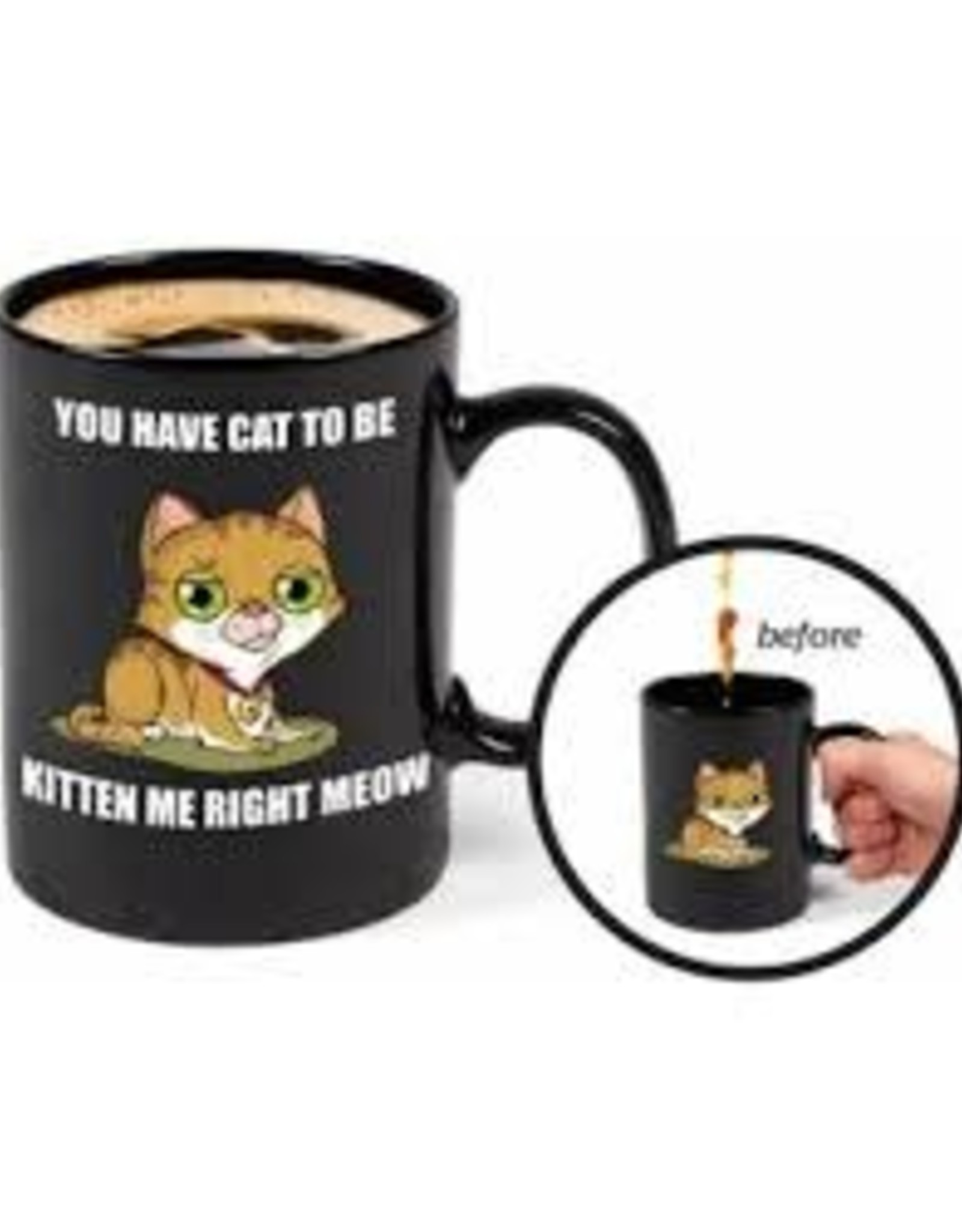 BigMouth Glassware Mystery Mug - Kitten