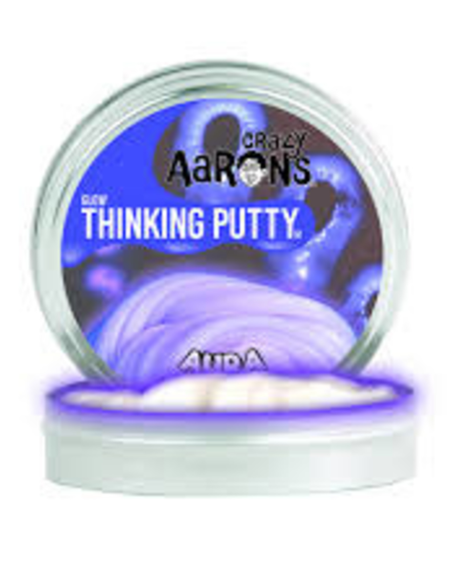 "Crazy Aaron's Thinking Putty Aura 4"" Glow"