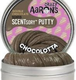"""Crazy Aaron's Thinking Putty Chocolotta 2.75"""" Scented"""