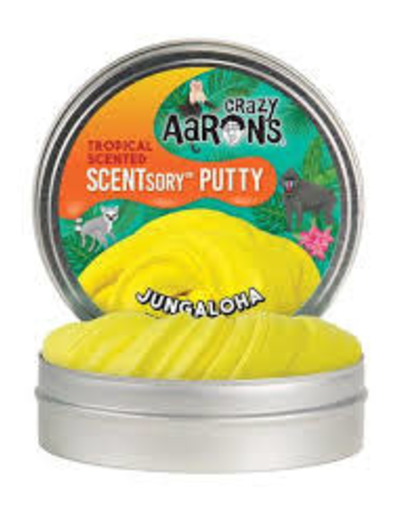 "Crazy Aaron's Thinking Putty Jungaloha 2.75"" Scented"