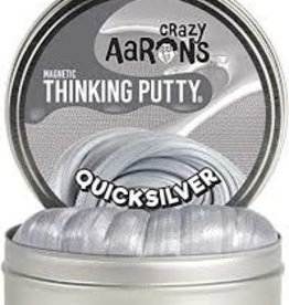 """Crazy Aaron's Thinking Putty Quicksilver 4"""" Magnetic"""