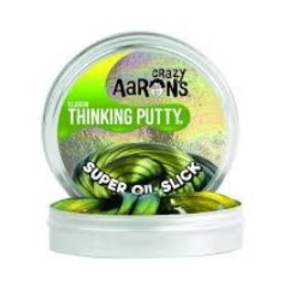 """Crazy Aaron's Thinking Putty Super Oil Slick 4"""" Illusions"""