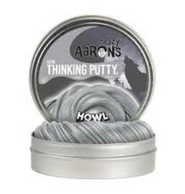 """Crazy Aaron's Thinking Putty Howl 4"""" Glow w/Moon Phase Cards"""