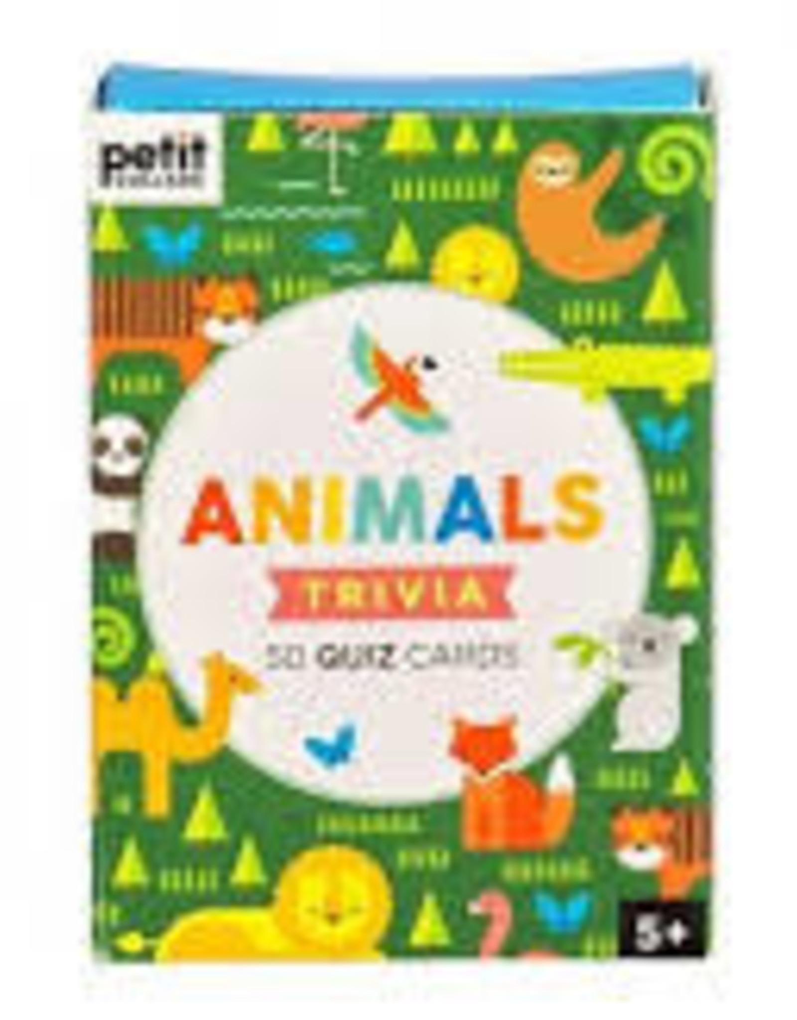 Petit Collage ANIMAL TRIVIA CARDS