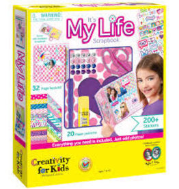 Creativity For Kids It's My Life Scrapbook Kit