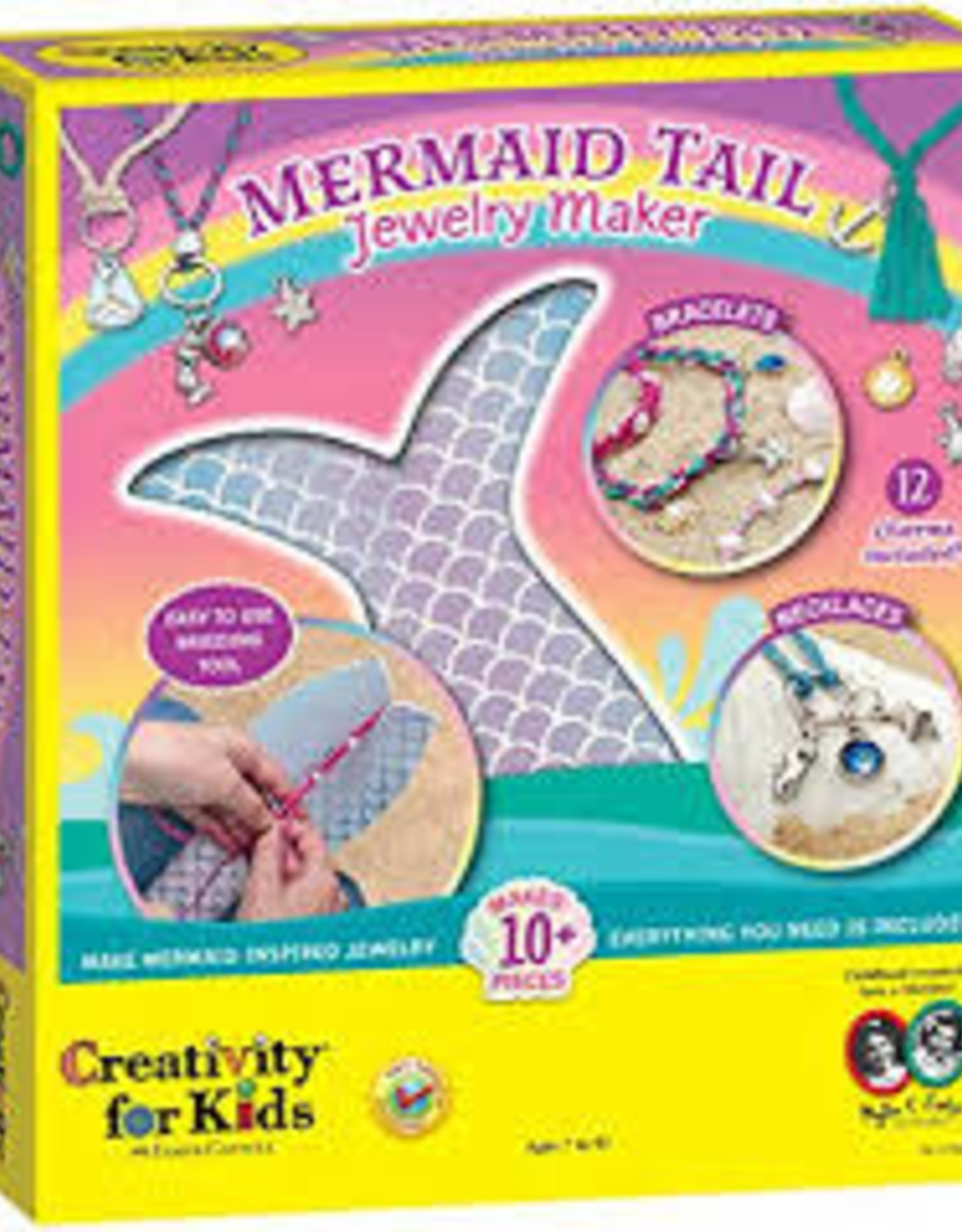 Creativity For Kids Mermaid Tail Jewelry Maker