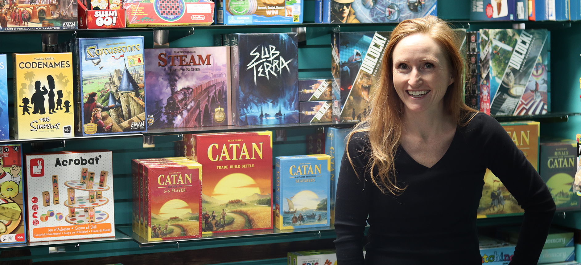 Store Owner and Games