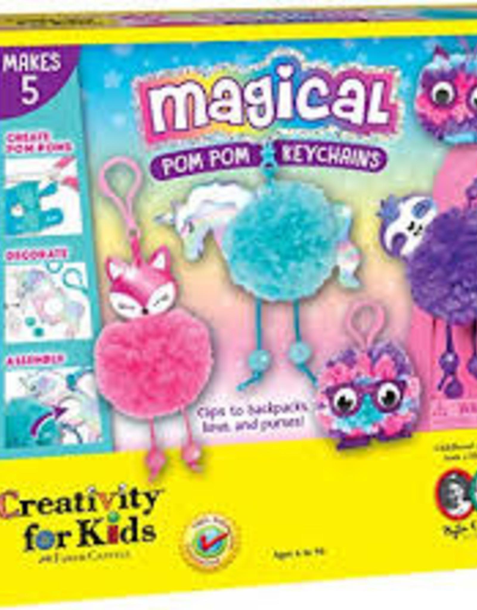 Creativity For Kids Magical Pom Poms Keychains