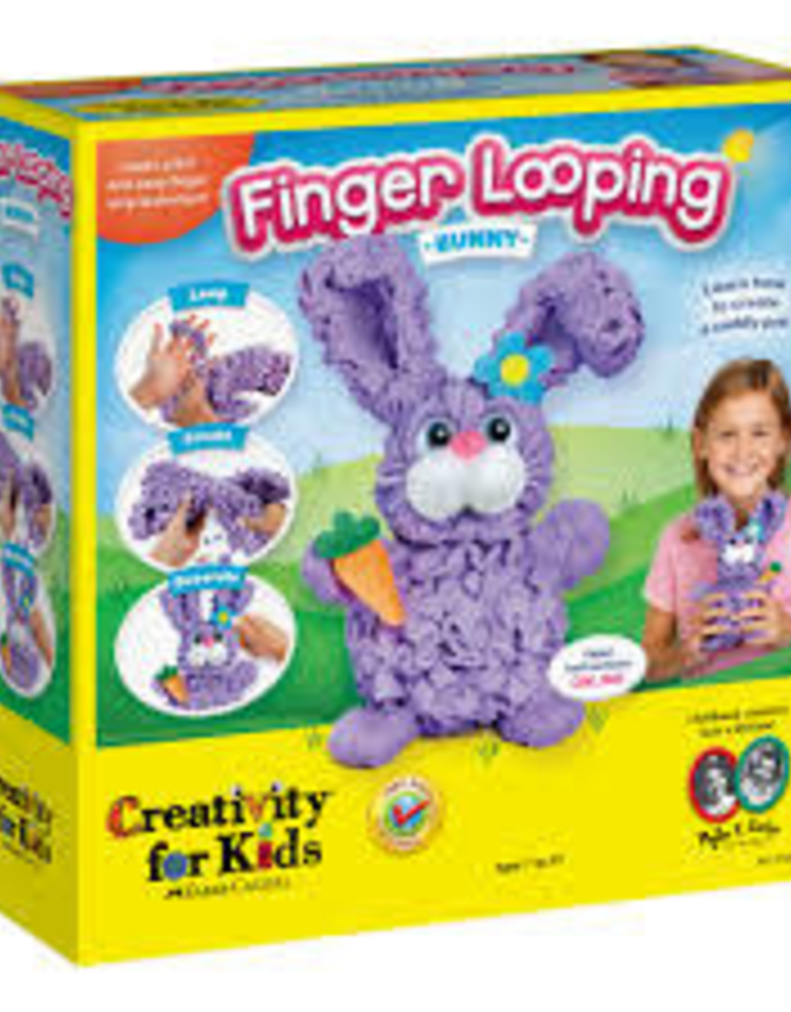 Creativity For Kids Finger Looping Bunny