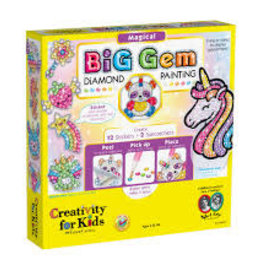 Creativity For Kids Big Gem Diamond Painting Magical