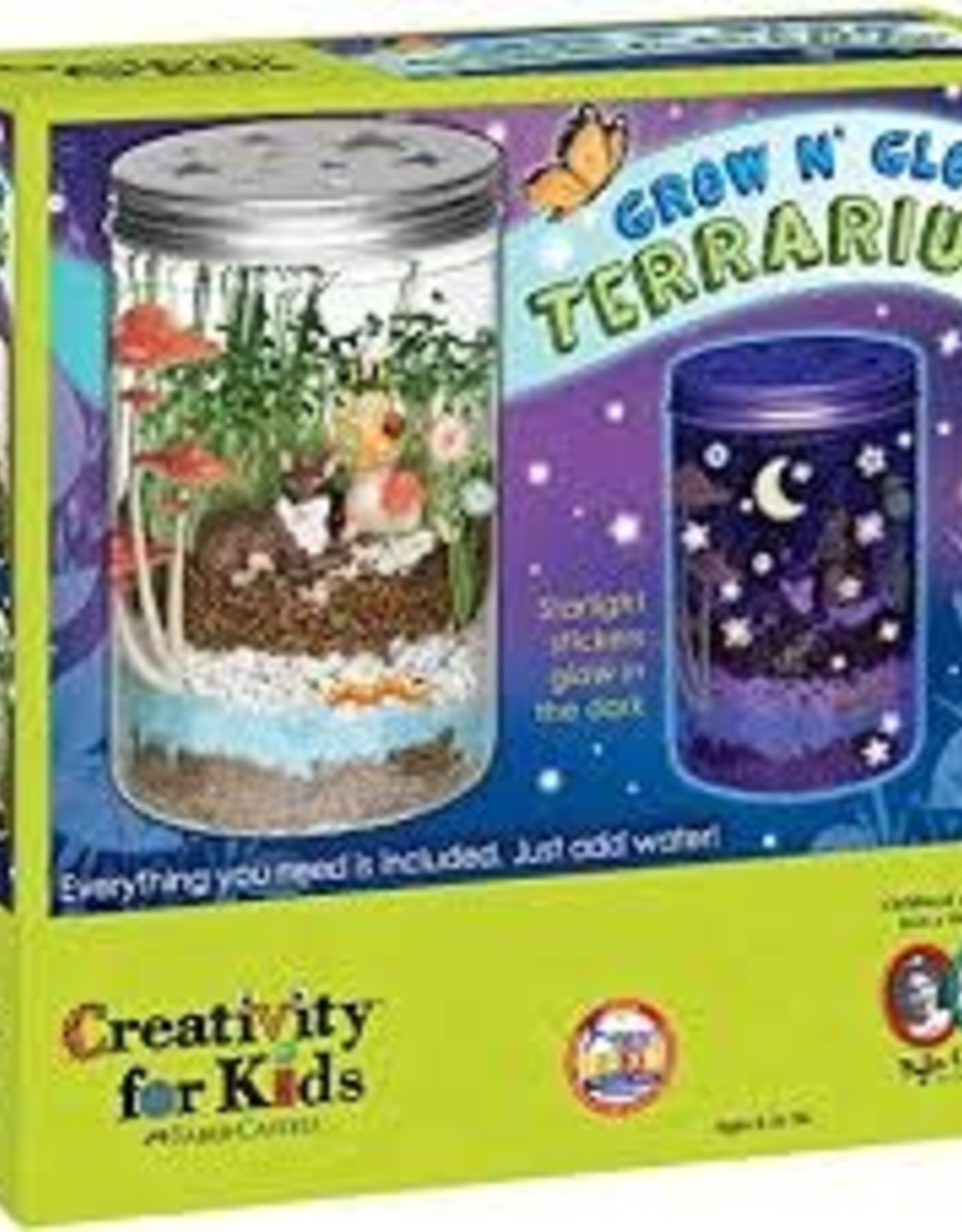 Creativity For Kids Grow & Glow Terrarium