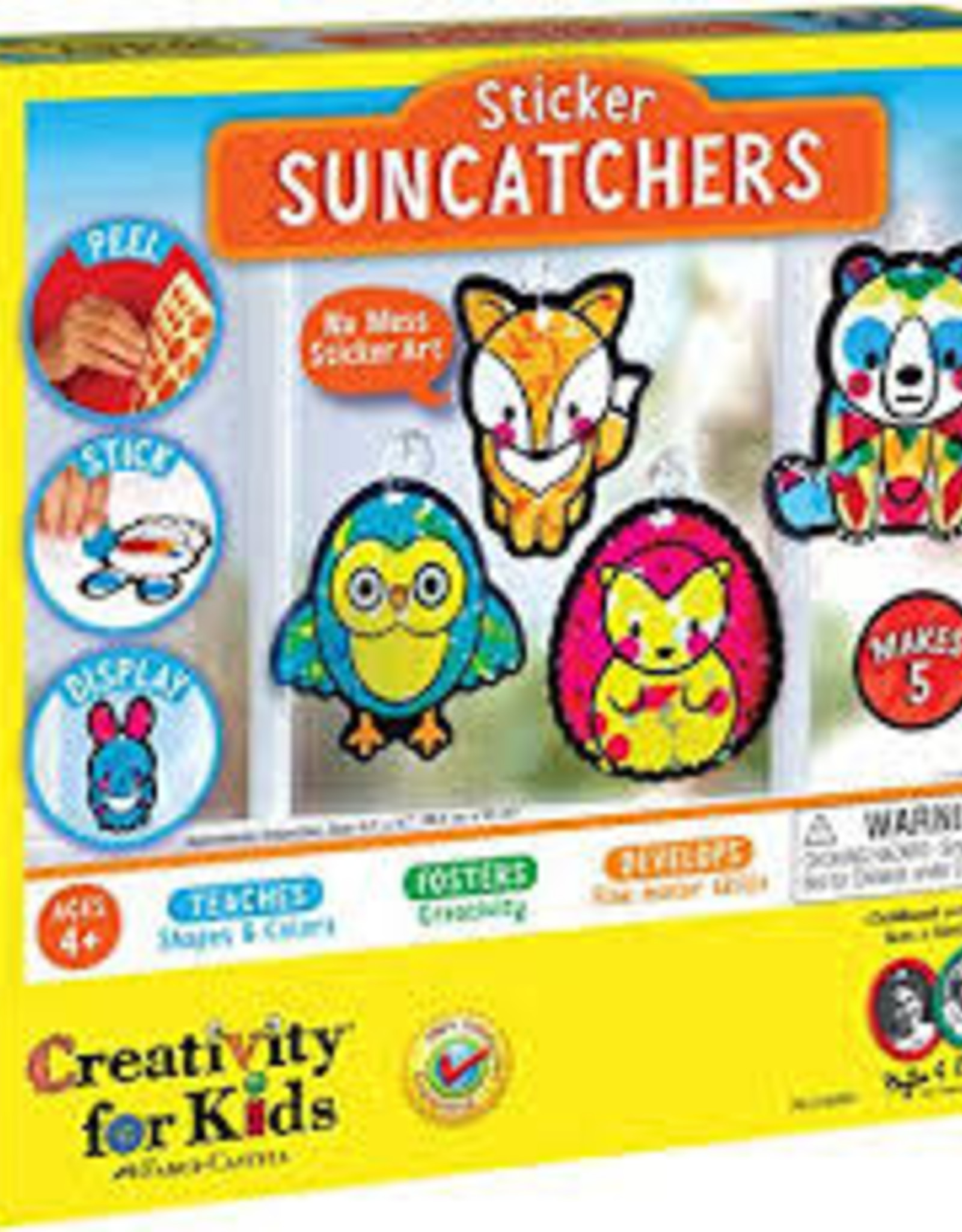 Creativity For Kids Sticker Suncatchers