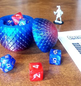 Fantasy by Numbers Dragon Egg - Med, Premium Frostfire