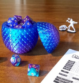 Fantasy by Numbers Dragon Egg - Small, Premium Twilight