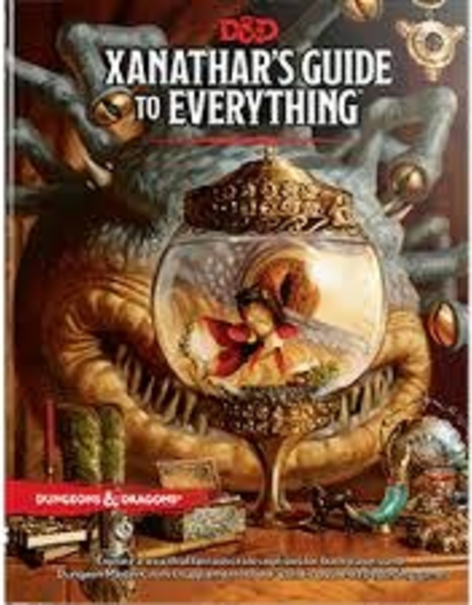 Wizards of the Coast DND: Xanathars Guide to Everything