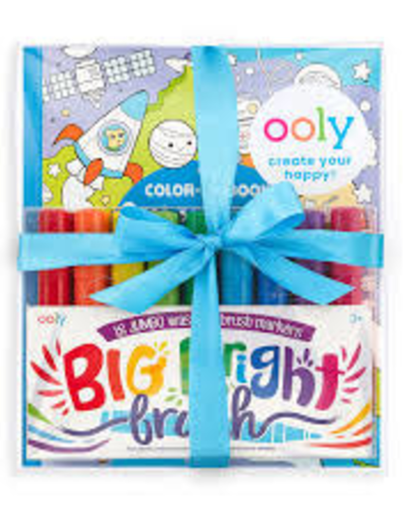 OOLY BIG & BRIGHT OUTER SPACE COLORING PACK