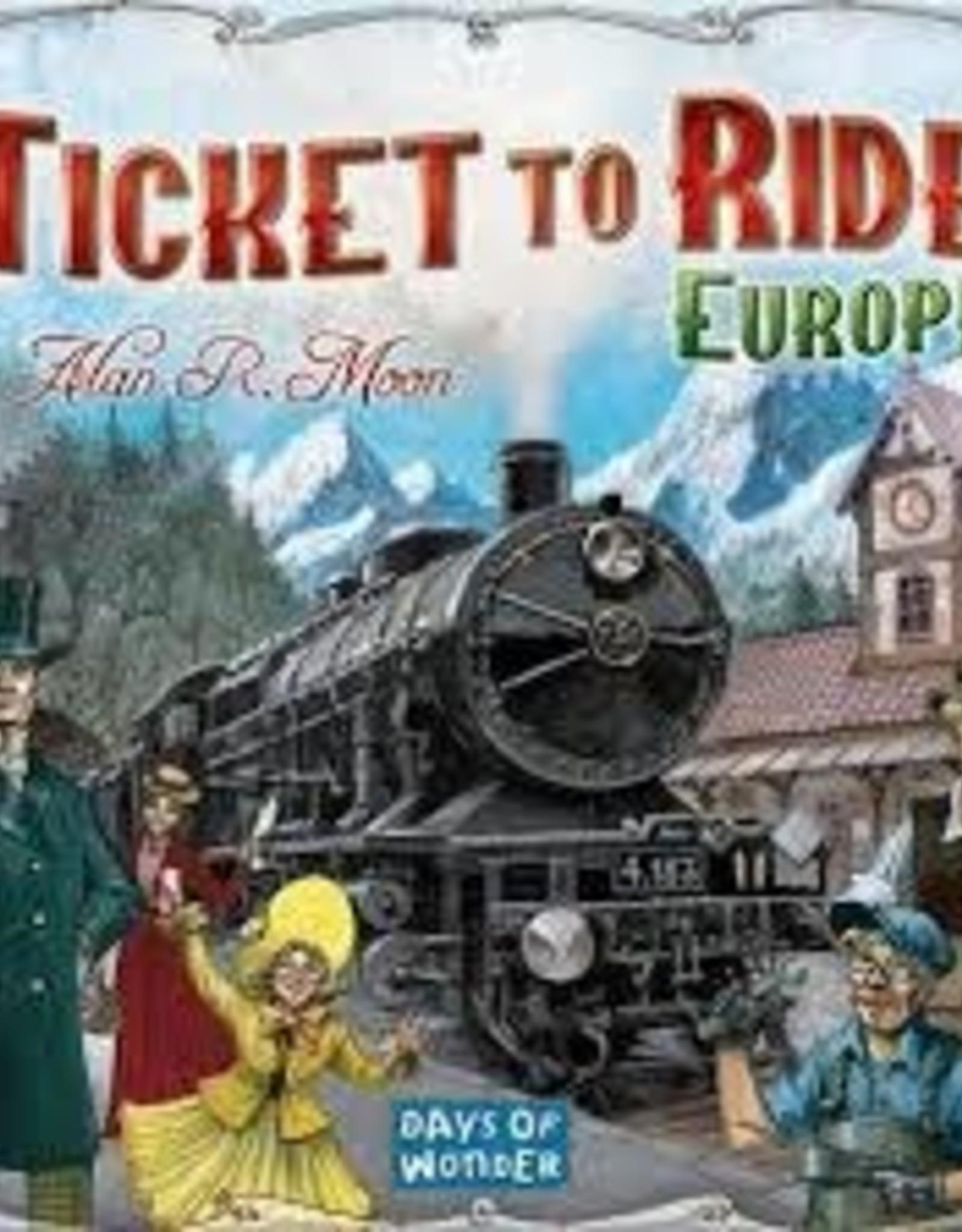 Days of Wonder Ticket to Ride- Europe