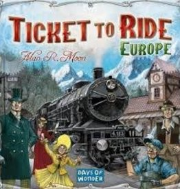 Days of Wonder Ticket to Ride- Europe