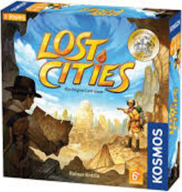 Thames & Kosmos LOST CITIES - CARD GAME - WITH 6TH EXPEDITION