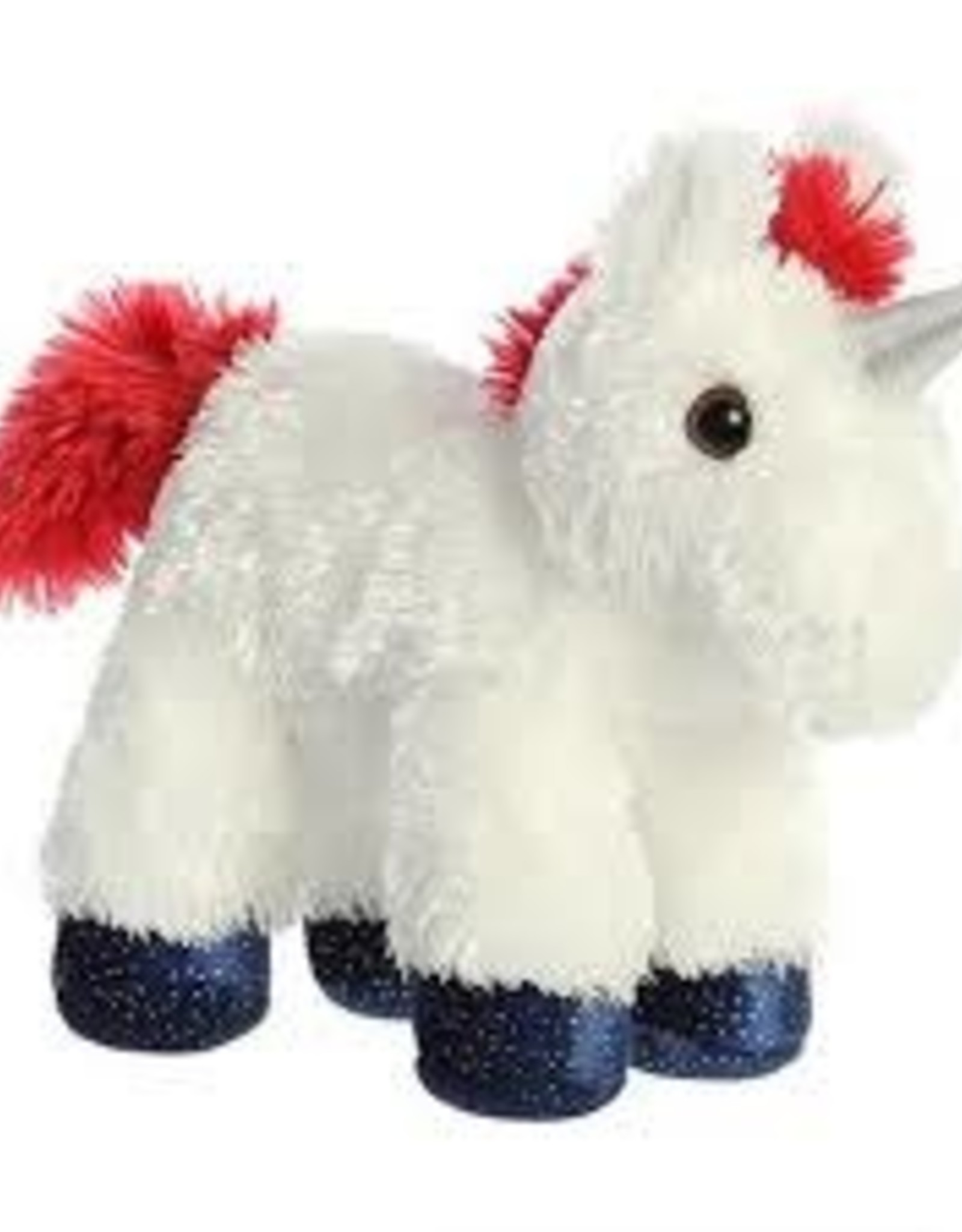 Aurora Mini Flopsie-Star Unicorn 8""