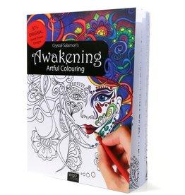 Crystal Salamon Awakening: Artful Colouring Book