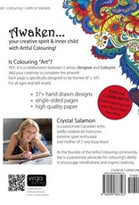 Crystal Salamon Awakening: Artful Colouring Book