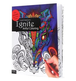 Crystal Salamon Ignite: Artful Colouring Book