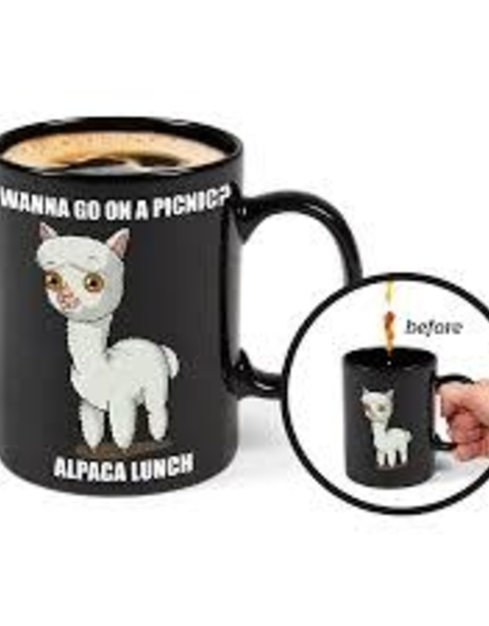 BigMouth Glassware Mystery Mug - Alpaca