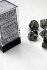 Chessex Dice - 7pc Smoke & White