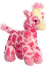"""Aurora Mini Flopsie-Fuschia Giraffe8"""""""