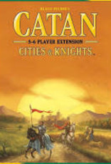 Catan Studio Catan Ext: Cities & Knights 5-6 Player