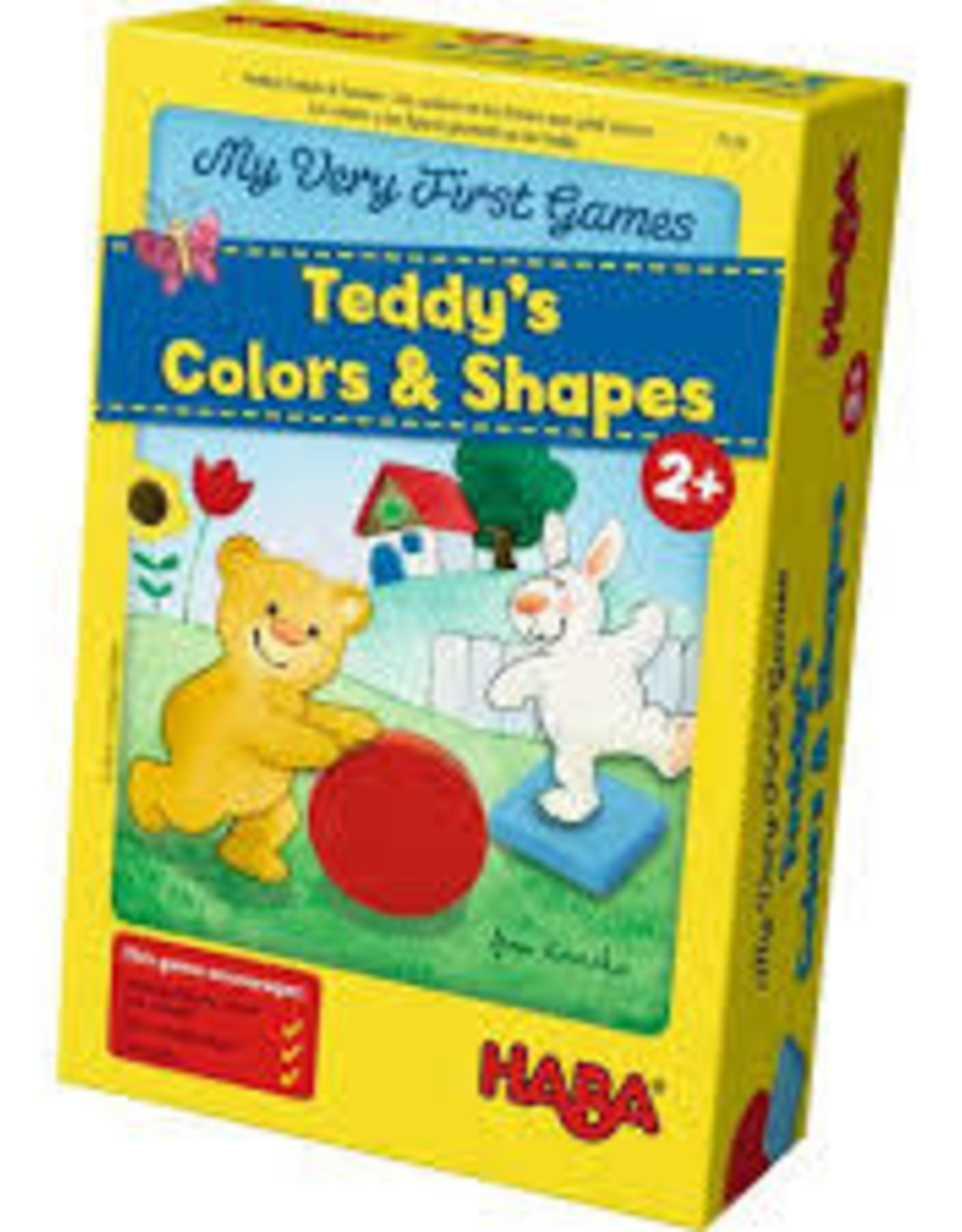 Haba My Very First Game - Teddy's Colours and Shapes