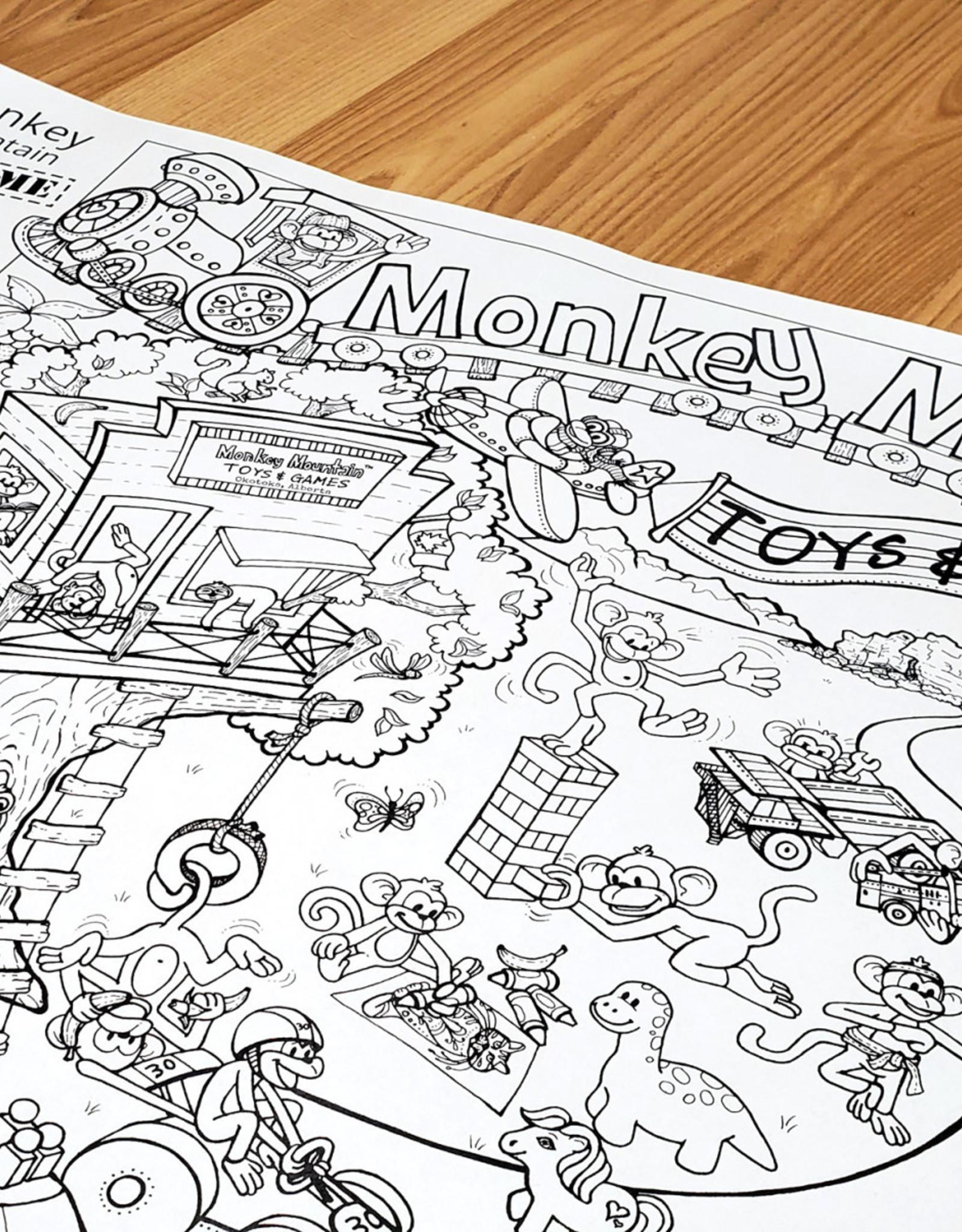 Crystal Salamon Monkey Mountain Seek & Find